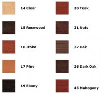 FARBALL COLOUR CHART